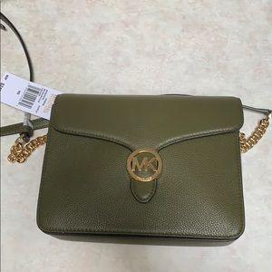Lg Michael Kors Crossbody leather Vanna bag
